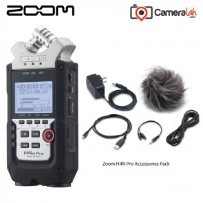 Zoom H4NPRO Handy Recorder - Grab & Go BUNDLE