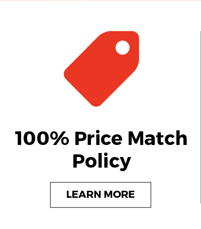 100% Price Match Policy