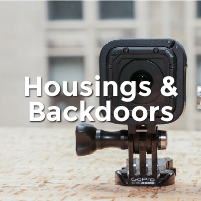 Housings & Backdoors