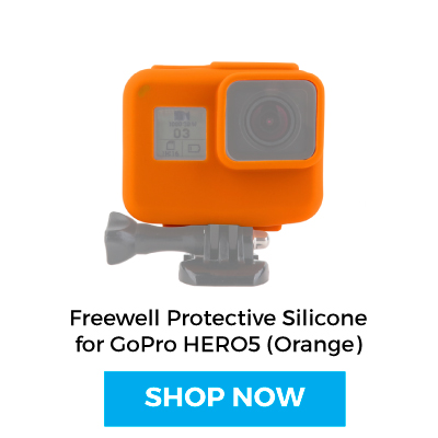 Shop Freewell Protective Silicone for GoPro HERO5 Black (Orange)