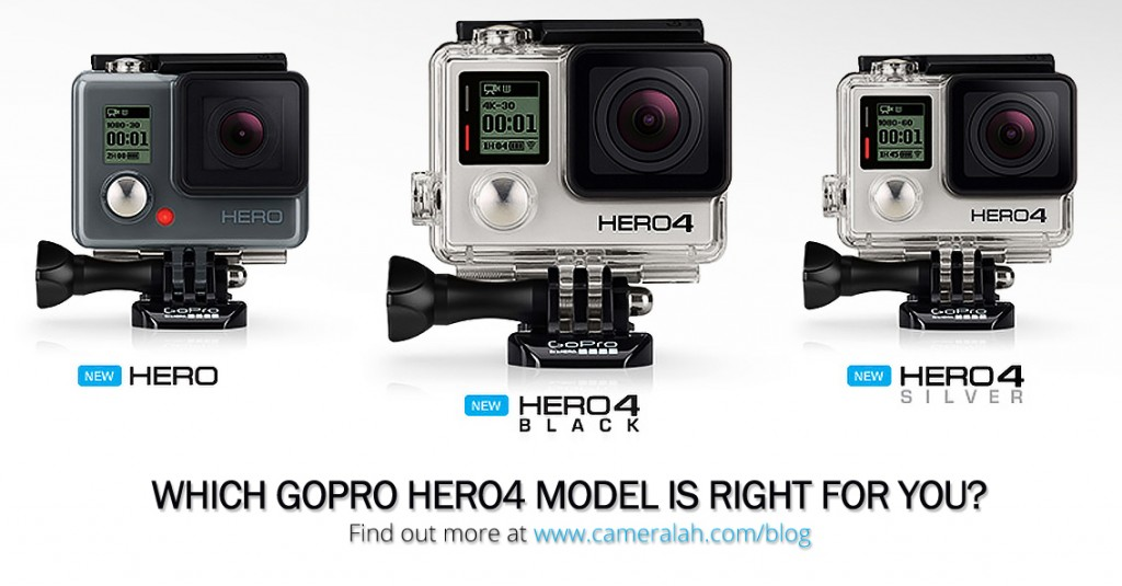 GoPro HERO4 Black vs Silver vs Basic Edition
