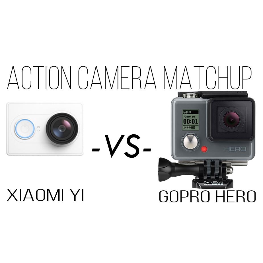Xiaomi Yi VS GoPro HERO Action Camera Comparison