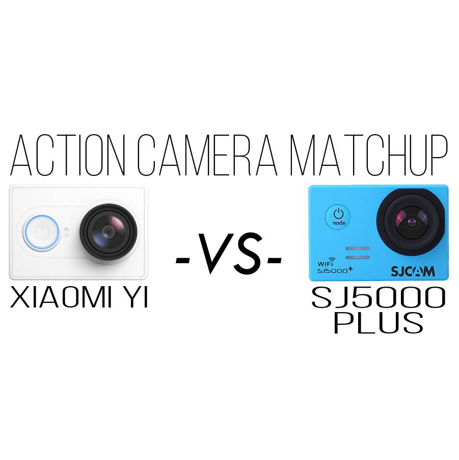 Xiaomi Yi VS SJ5000 Plus Action Camera Comparison