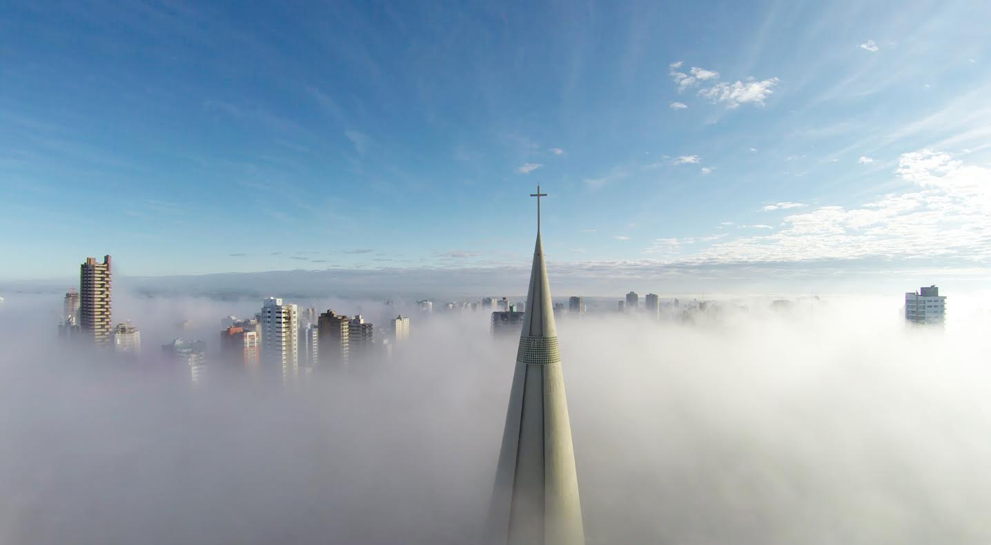 1st Prize Winner – Category Places: Above the mist by Ricardo Matiello