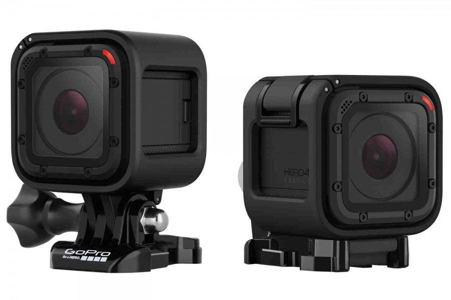 First Look : GoPro HERO4 Session - Smallest GoPro Action Camera Ever