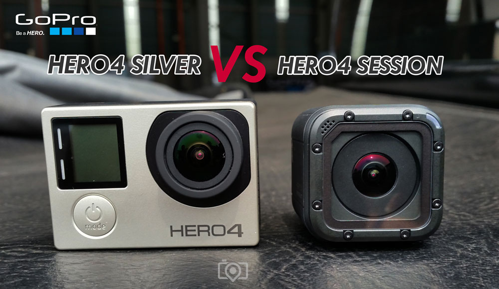 GoPro HERO4 Session and GoPro HERO4 Silver - Which is better for you?