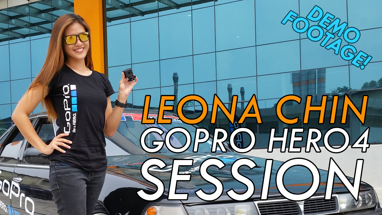 Leona Chin - GoPro HERO4 Session Demo