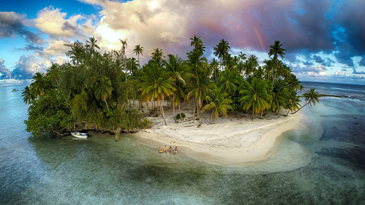 3rd Prize Winner – Category Nature: Lost island, Tahaa, French Polynesia, by Marama Photo Video