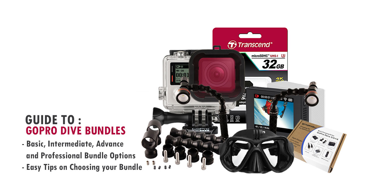 Guide to GoPro Dive Bundles by Cameralah