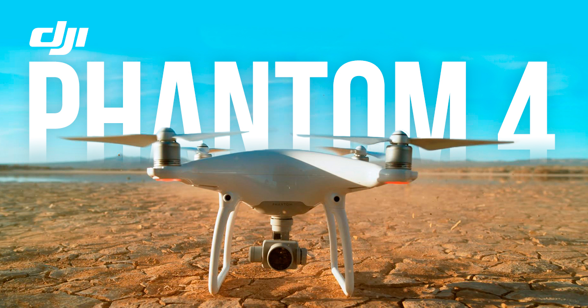 The Latest DJI Phantom 4 Drone has Human Tracking and is Almost Crashproof
