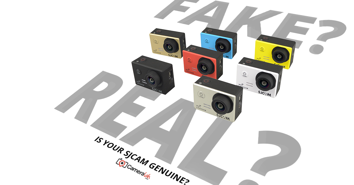 SJCAM – Differentiating between an Original and Fake SJCAM