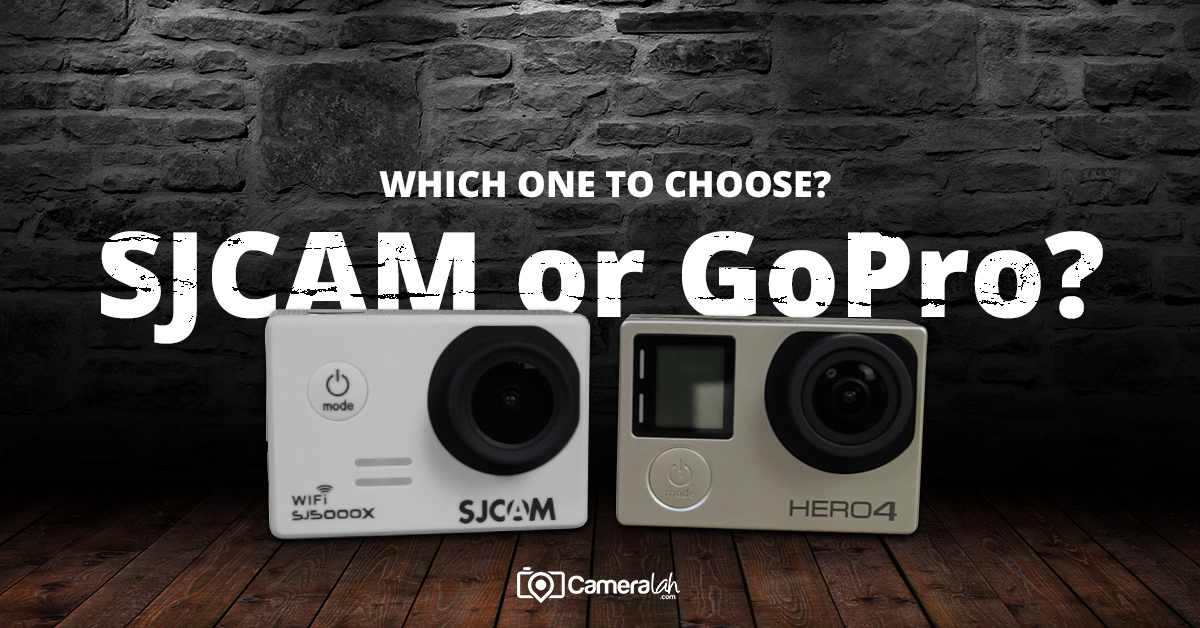 Top 3 Tips on Choosing between SJCAM vs GoPro