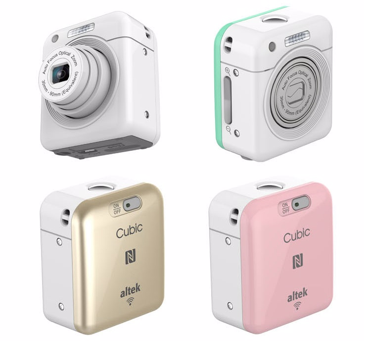 Altek-Cubic-(White)-Smart-Mini-Wireless-Cube-Camera